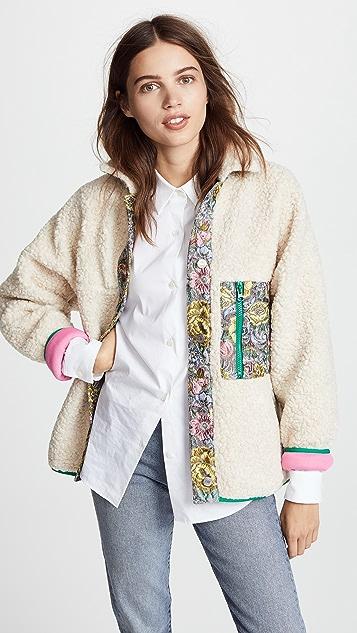 cb232c2422a1 Sandy Liang Bayside Fleece Jacket | SHOPBOP