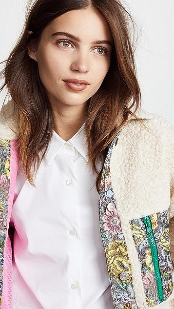 Sandy Liang Bayside Fleece Jacket