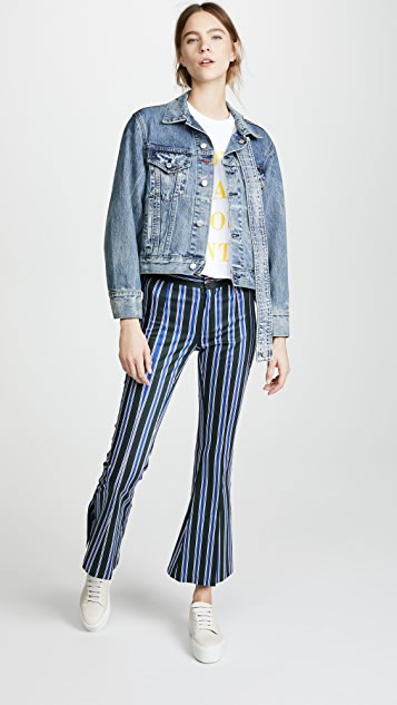 Sandy Liang Wells Denim Jacket