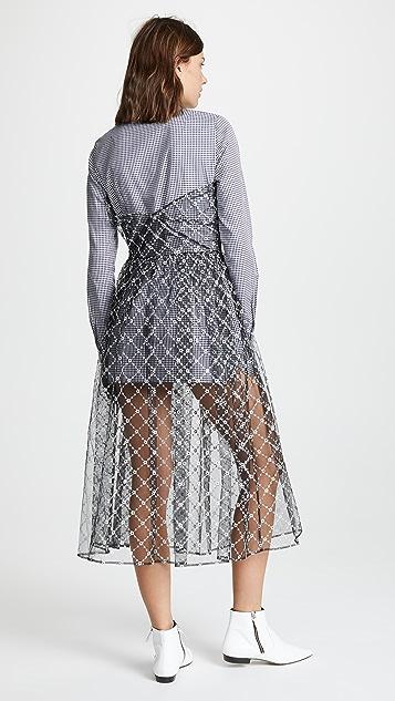 Sandy Liang Платье Mousse