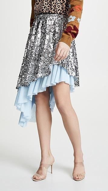 Sandy Liang Skrrt Skirt