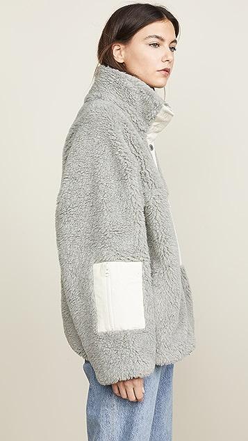 Sandy Liang Ollie Fleece Jacket