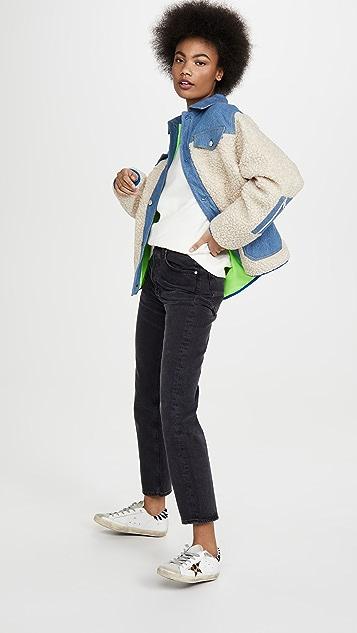 Sandy Liang Куртка Dorne из флиса