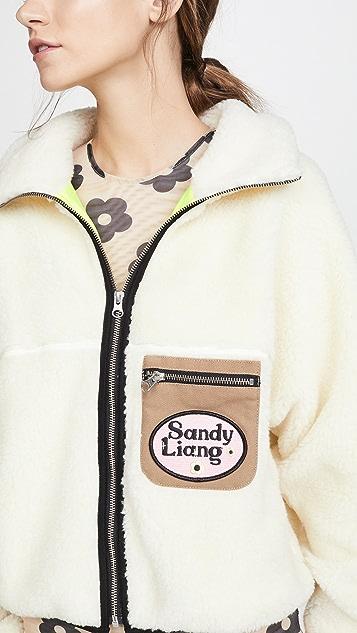 Sandy Liang Sarnie 绒布