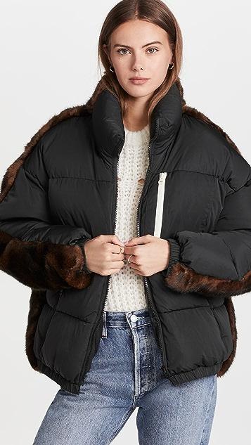 Sandy Liang Sybil Puffer Jacket