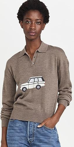 Sandy Liang - Car Polo Sweater
