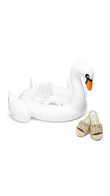 SunnyLife Надувной лебедь для маленьких детей