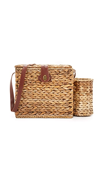 SunnyLife Picnic Basket for 2