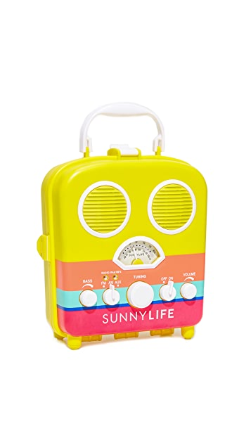 SunnyLife Havana Beach Sounds Speaker & Radio