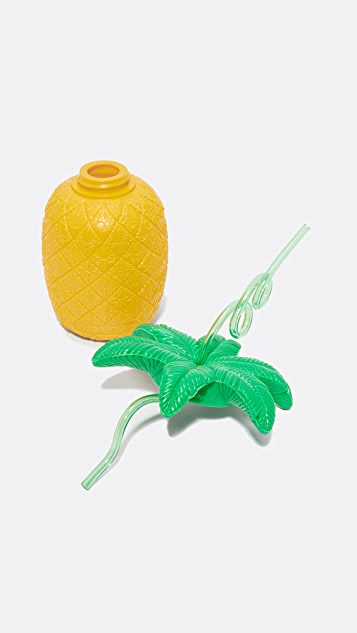 SunnyLife Pineapple Sipper Cup