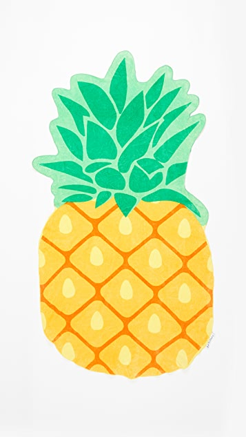 SunnyLife Pineapple Beach Towel