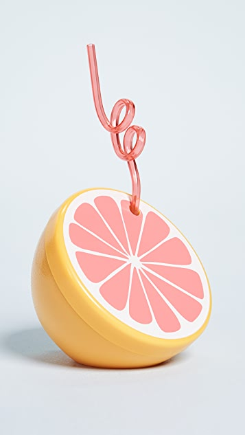 SunnyLife Grapefruit Sipper Cup