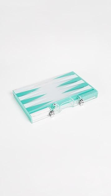 SunnyLife Backgammon Set