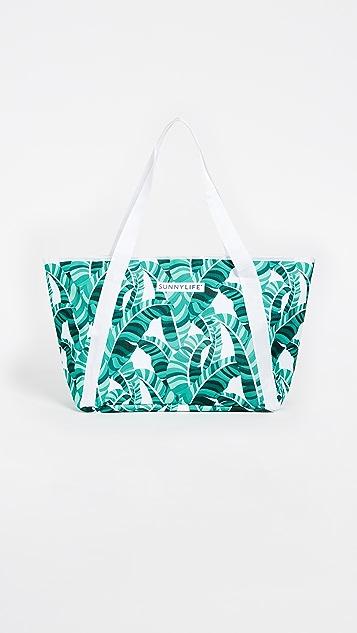SunnyLife Banana Palm Cooler Bag