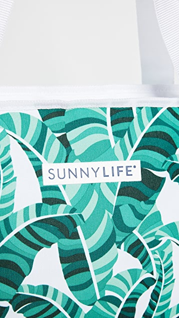 SunnyLife Banana Palm Cooler Bag