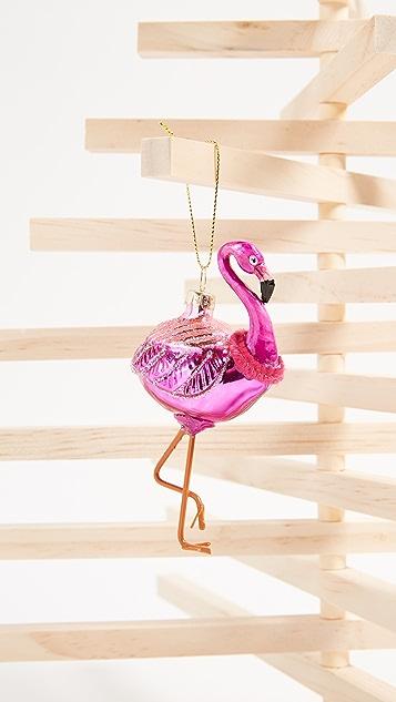 SunnyLife Flamingo Ornament
