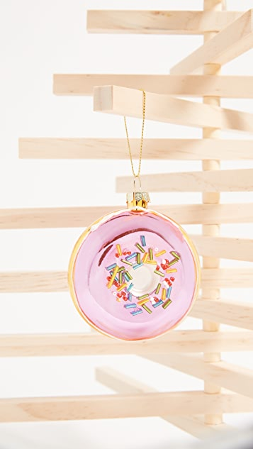 SunnyLife Donut Ornament