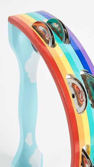 SunnyLife Rainbow Tambourine
