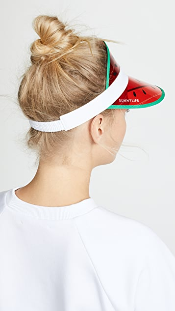 SunnyLife Retro Watermelon Sun Visor