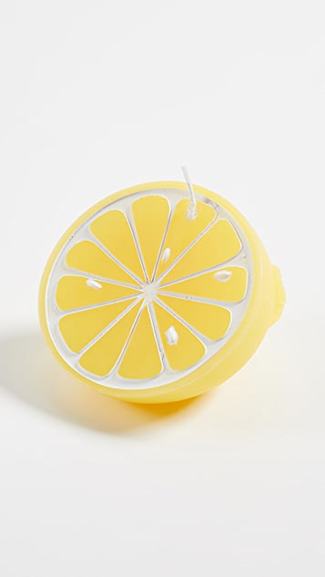 SunnyLife Small Lemon Candle