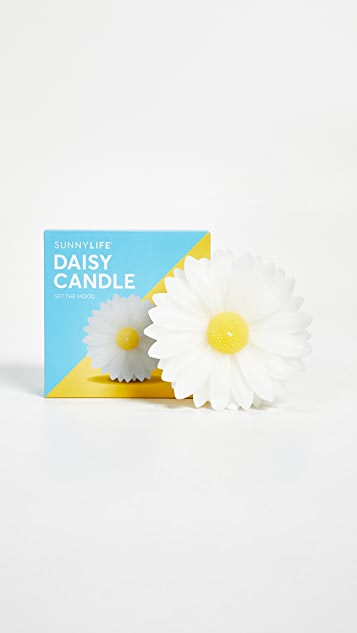 SunnyLife Small Daisy Candle