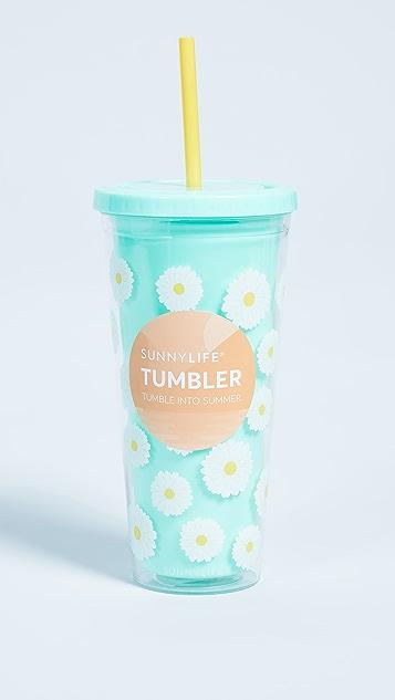 SunnyLife Daisy Tumbler