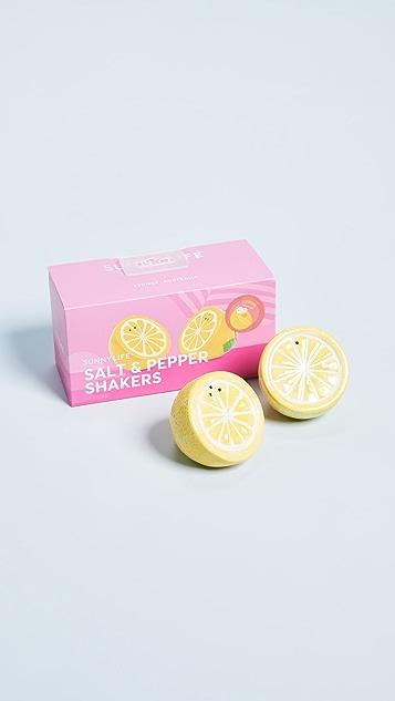 SunnyLife Lemon Salt & Pepper Shakers
