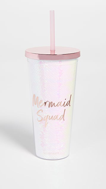 SunnyLife Mermaid Tumbler