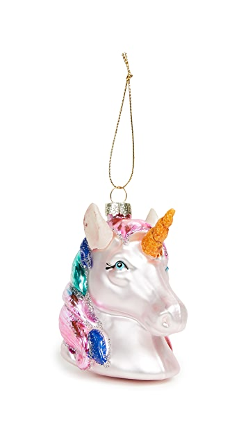 SunnyLife Unicorn Ornament