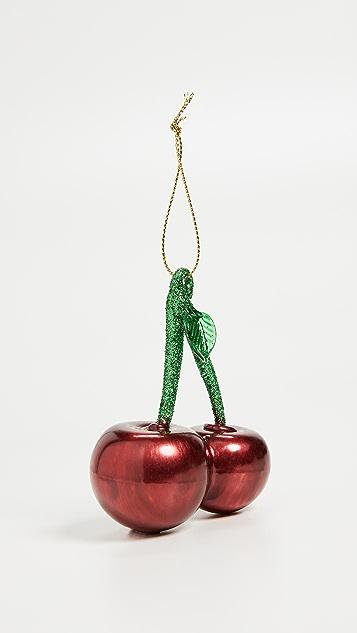 SunnyLife Cherry Ornament