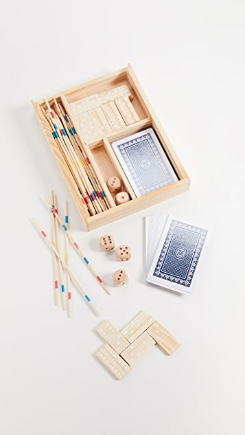SunnyLife Malibu 4 in 1 Board Game