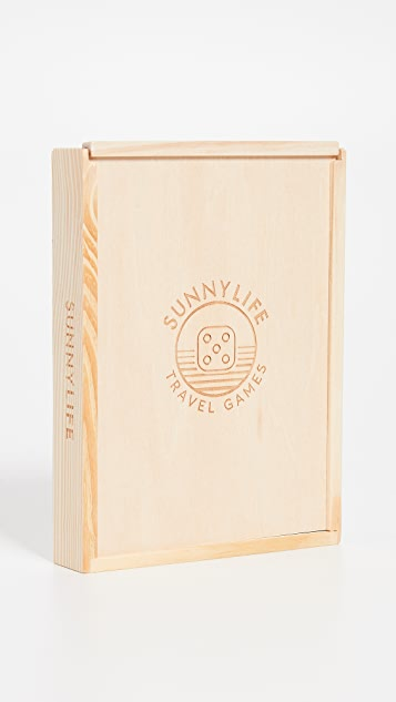 SunnyLife Malibu 4 in 1 Board Game
