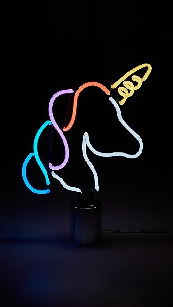SunnyLife Neon Unicorn Large Light