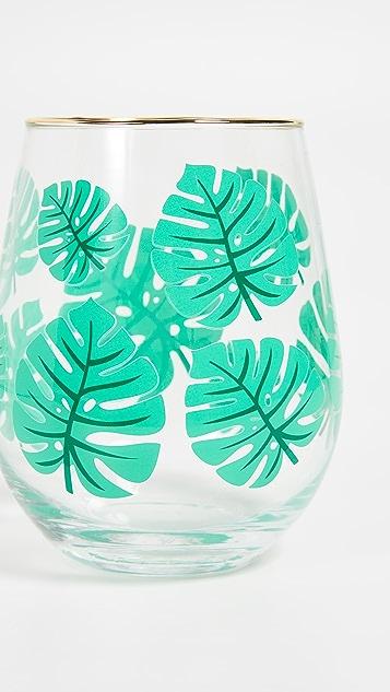 SunnyLife Monteverde Stemless Cocktail Glasses
