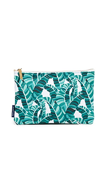 SunnyLife Banana Palm Large Travel Pouch