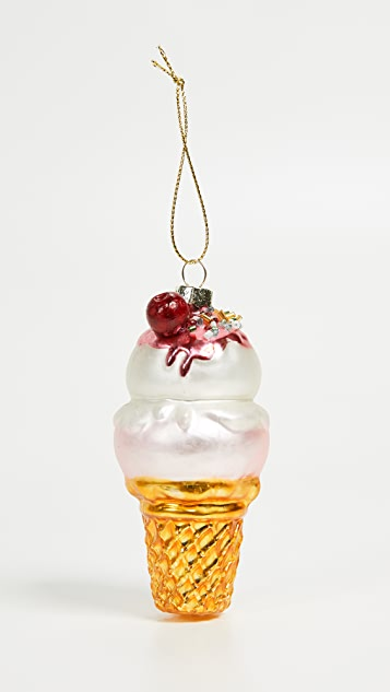 SunnyLife Ice Cream Ornament