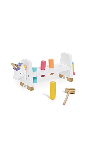 SunnyLife Kid's Unicorn Hammer Bench