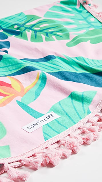 SunnyLife Round Fouta Towel