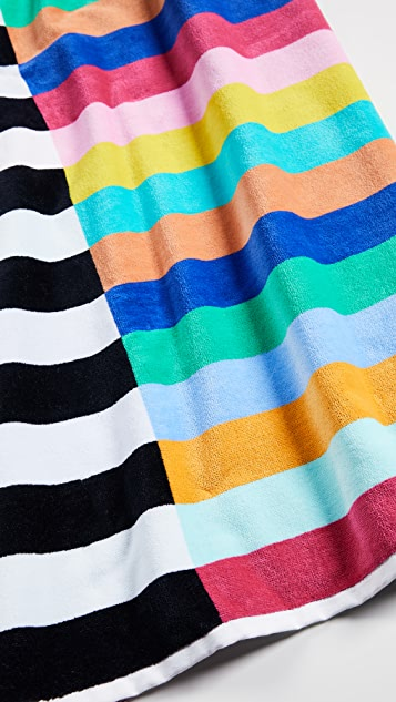 SunnyLife Crocodile Rock Luxe Towel