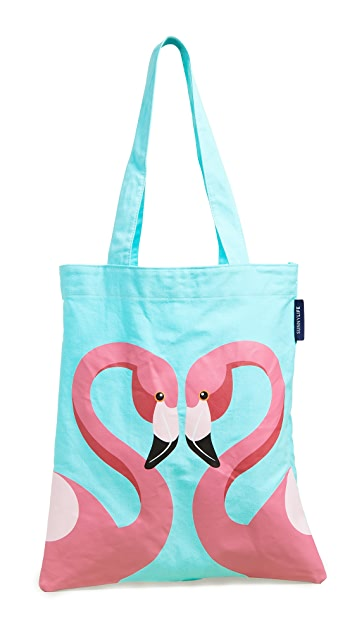 SunnyLife Flamingo Tote Bag