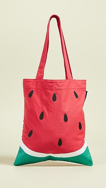 SunnyLife Объемная сумка с короткими ручками Watermelon