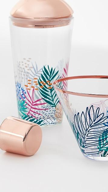 SunnyLife Luxe Shaker & Glass Set