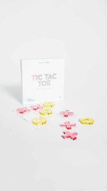 SunnyLife Lucite Tic Tac Toe Game