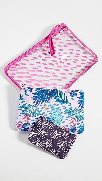 SunnyLife Small Travel Bag Set