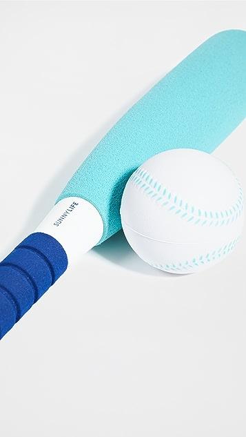 SunnyLife Foam Rounders Bat and Ball Set