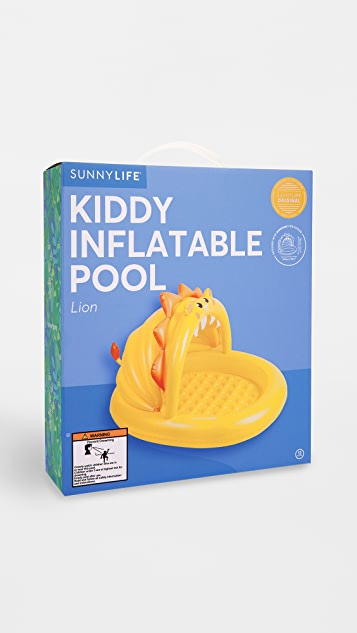 SunnyLife Lion Kiddie Pool