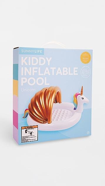 SunnyLife Unicorn Kiddie Pool