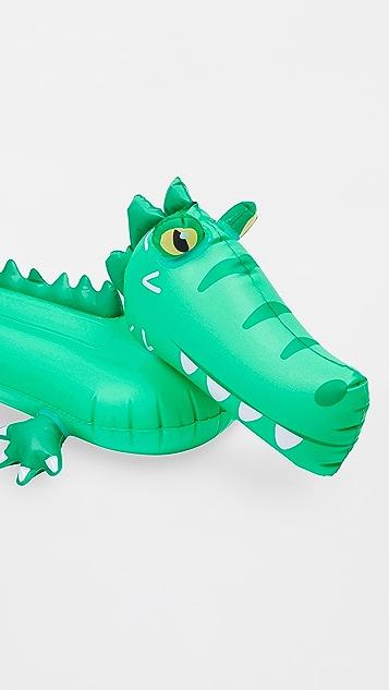 SunnyLife Croc Sprinkler Inflatable