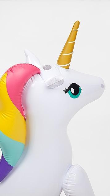 SunnyLife Unicorn Inflatable Sprinkler