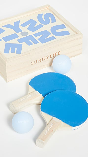 SunnyLife Travel Play On Table Tennis